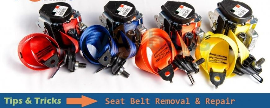Seat Belt Removal Repair